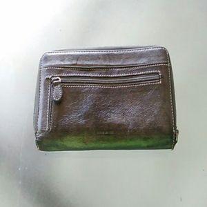 Vintage genuine leather wallet